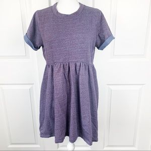 Asos Maternity Purple Short Sleeve Maternity Dress